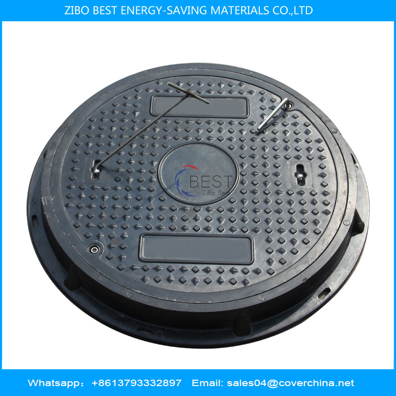 SMC Resin 600mm D400 Round Manhole Cover