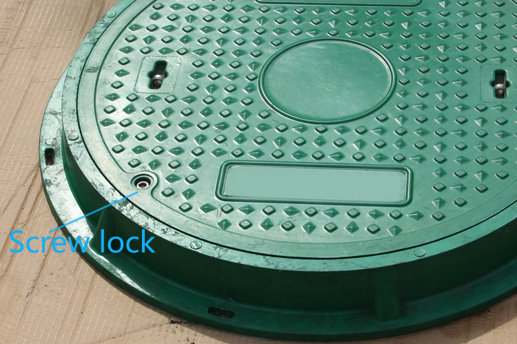 smc 600mm A15 round manhole cover