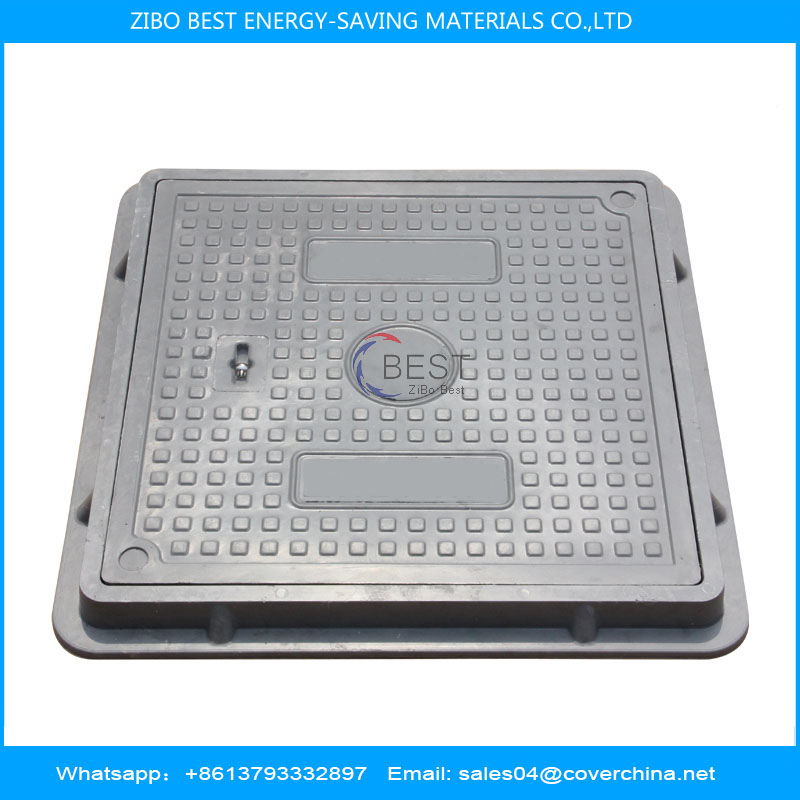 smc square 500x500mm manhole cover A15