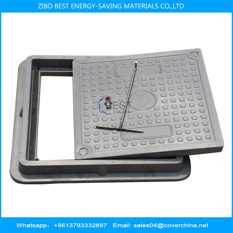Resin manhole cover 400x400mm A15