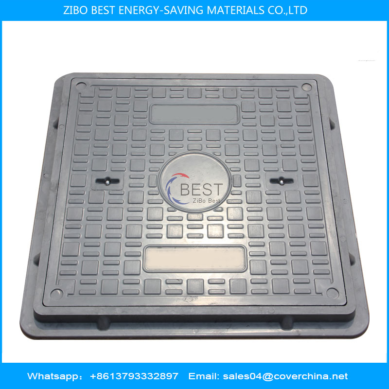 Resin 600x600mm A15 square Manhole Cover