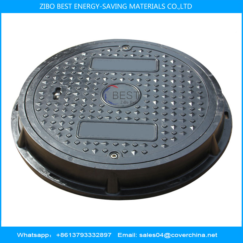 SMC round 500mm A15 manhole cover