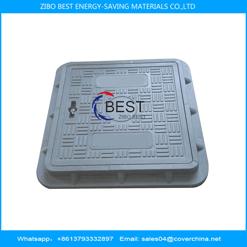 Composite manhole cover square 300x300mm A15