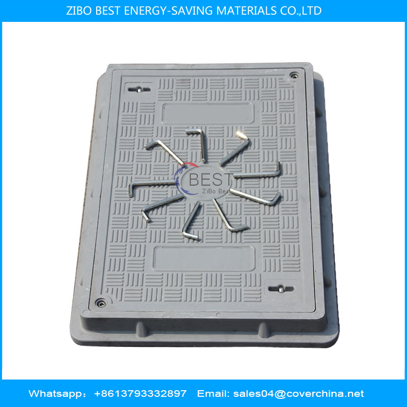 Composite manhole cover 450x750mm A15