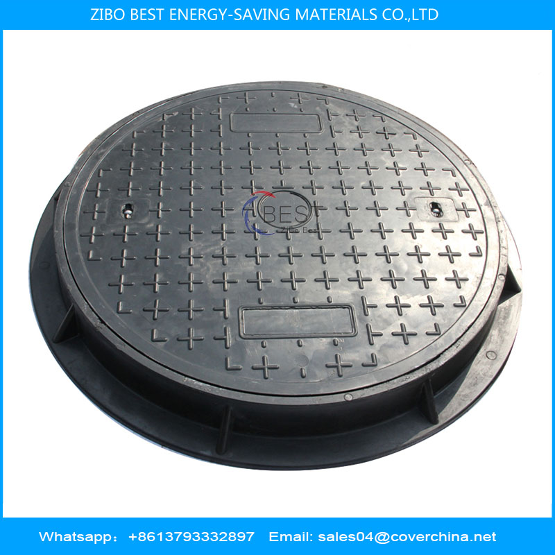 SMC resin manhole cover round 900mm C250