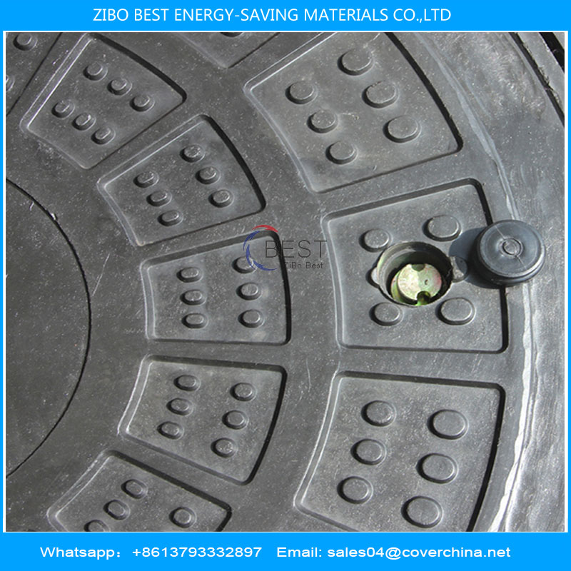 smc round 750mm with hinge manhole cover