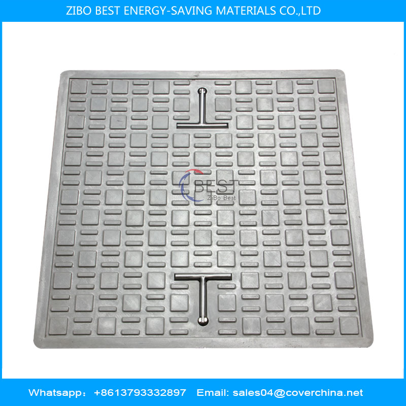 square586x586 composite manhole cover with nice appeaerance