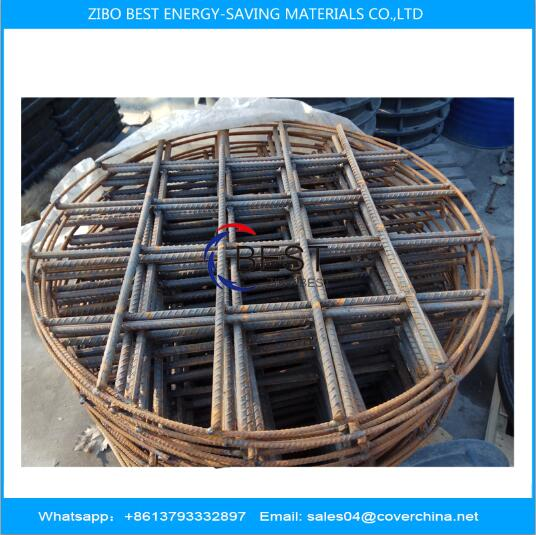 BMC manhole cover with deformed steel bar