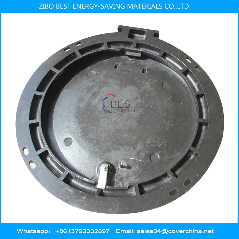 690mm composite smc manhole cover load bearing capacity 80tons