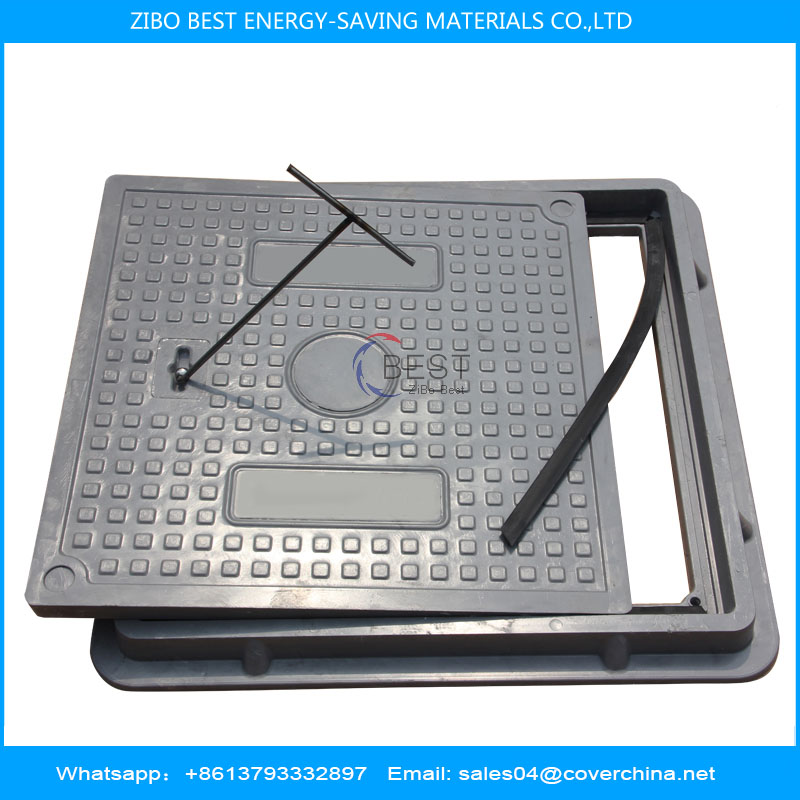 500x500 B125 Composite Resin Manhole Cover
