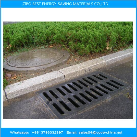 Resin groove cover plate rainwater grate