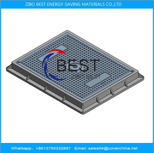 SMC B125 450x600mm Manhole Cover UV Resistance