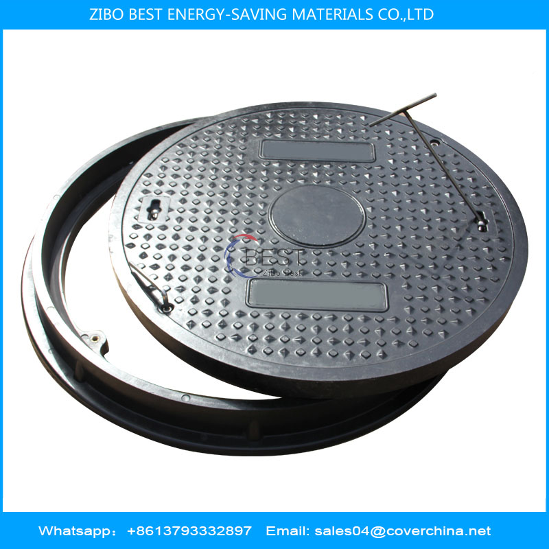 SMC Composite Round 700D400 Manhole Cover