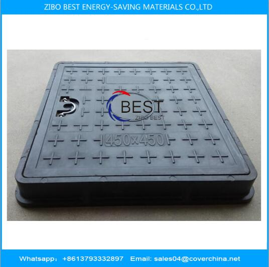 BMC Composite Manhole Cover 400x400mm Load Capacity 3tons