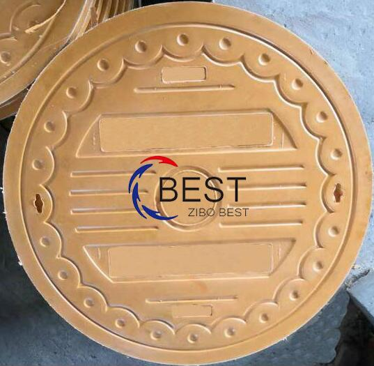 Composite Round 800mm C250 Manhole Cover