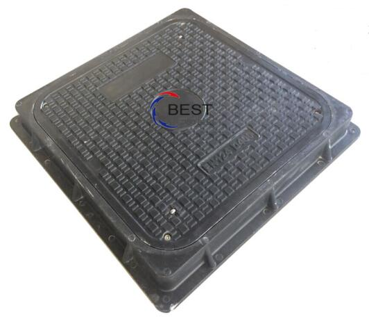 Square Manhole Cover 655x655 D400 Load Rating