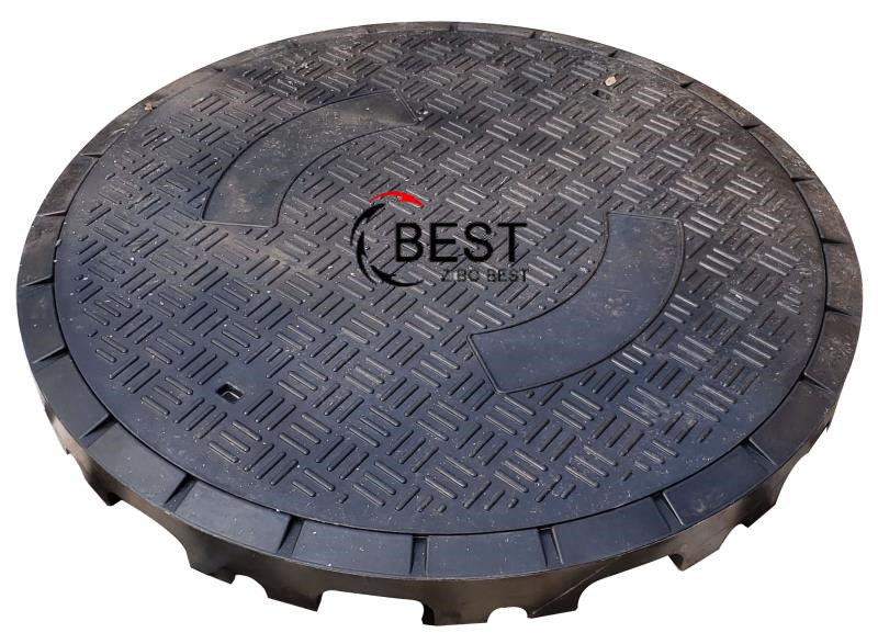 Composite Round Manhole Cover 993mm D400 Load Rating