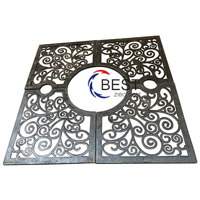 Iron Materials Tree Grate 1500x1500mm